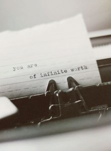 suicide awareness: letters to loved ones. you are of infinite worth