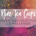 Nine Tea Cups Free Gratitude Journal + Challenge